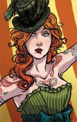 Sideshow Girls - The Tattooed Lady by tinkerbelcky