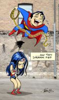 Death of Superman by tombancroft
