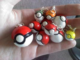 And more Pokeballs... by TheHarley