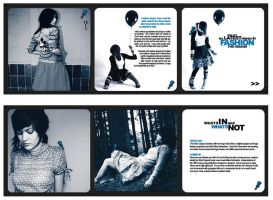 Fashion Brochure - Roll Fold by StolenStars