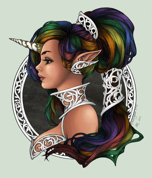 Michelle Hoefener Collab by SmiteTheeWithApples