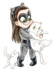Baby Catwoman by ArtofLaurieB