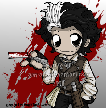 Sweeney Todd by amy-art