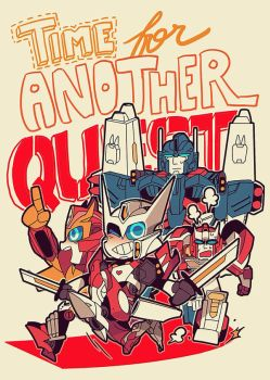 MTMTE: Time for Quest by c0ralus