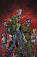 Fanboys Vs Zombies 4 cover by BlondTheColorist