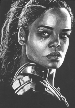 Valkyrie (black paper) by MayTheForceBeWithYou