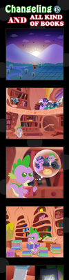 Changeling And All Kind Of Books 15 by vavacung