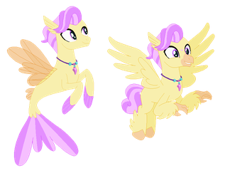 MLP Gacha Adopts - Merpony For Taintedoneninja by xavs-pixels