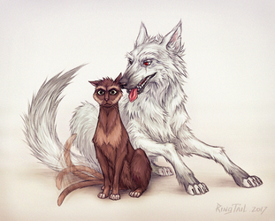 Hound and Whiskers by Ring-T