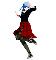 mmd - Self model by OneWhoFeelLonely2