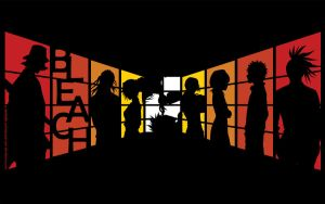 BLEACH: Silhouettes by metzalx