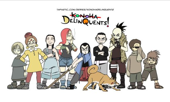 The Delinquents! by EarthBenderCharlie