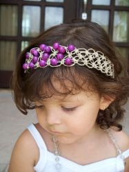 Purple Jasper Headband by tiranaki