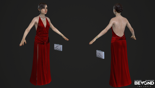 PS3 Beyond Two Souls - Jodie Dress The Embassy by Crazy31139