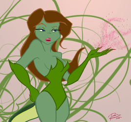 TMNT Poison Ivy Mona Lisa by theblindalley