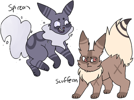 Fan-Made Eeveelutions Auction by catpaths
