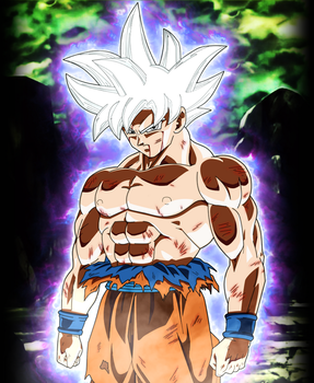 [Dragonball Super] Mastered Ultra Instinct Goku by Flashmeisterr