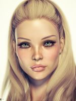 Face of Innocence by LaMuserie