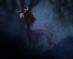 Wendigo by Breezy-Bird