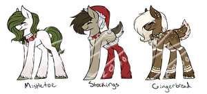 MLP Xmas Adopts 2017 [Auction] #2 - PENDING by Nyan-Adopts-2000