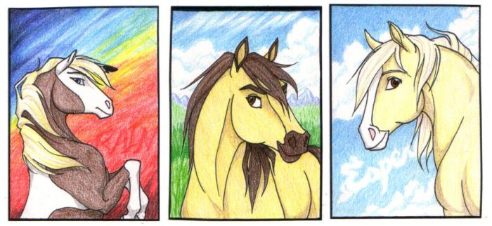 Spirit ACEO Contest Prizes by daughterofthestars