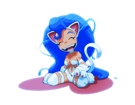 Felicia Commish! by D-Gee