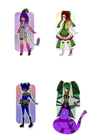 Monster Girls | Set Price | OPEN by CrystalQuill