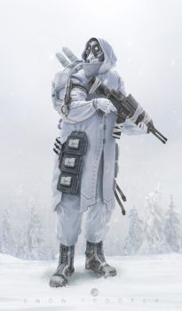 Snow Trooper by simonfetscher