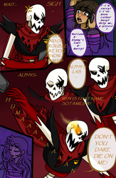 Underfell: P2 (Color) by AvionVadion2