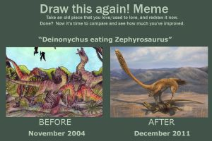 'Draw this again' meme by EWilloughby