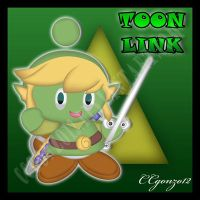 Toon Link Chao by CCmoonstar23
