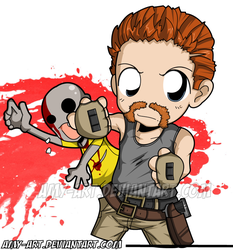 Abraham Ford - The Walking Dead by amy-art