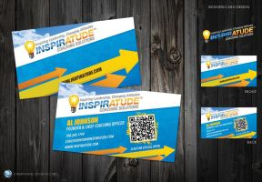 Inspiratude - Business Card by CybertronicStudios