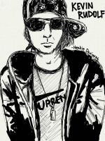 Kevin Rudolf (Sketch Time) by HarkinDeximire