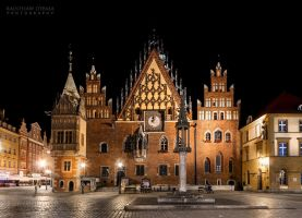 Night Wroclaw by Dybcio