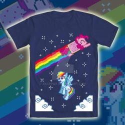 Nonstop Pixel Pie shirt by xkappax