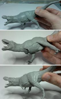 T. rex - pretty much ready for molding by N1C0L4I