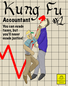Kung Fu Accountant by W74