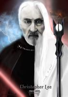 Christopher Lee RIP by VanessaBettencourt