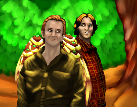 SABRIEL: IN TO THE DEEP by SmasherlovesBunny500