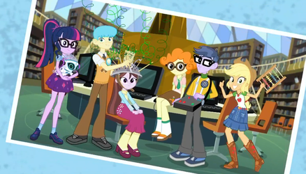 MLP Equestria Girls Queen of Clubs  Moments 7 by Wakko2010