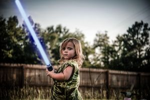 Jedi In Training by cheslah