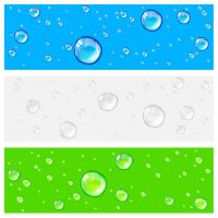 Free Water Drops Background by vectorbackgrounds