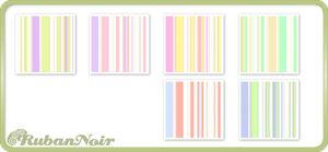 Pastel Soft Stripes Pattern by Lady-Himiko