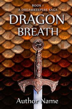 291 Dragon Breath Series Book 1 by CoverShotCreations