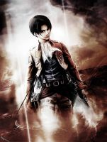 Levi Ackerman - Attack on Titan by SiriCC