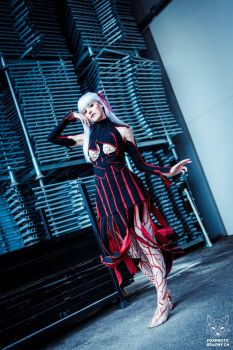 Dark Sakura Matou - Fate/Stay Night Cosplay by Tinu-viel