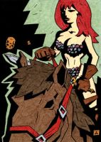 Red Sonja 14 by soliton
