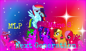 mlp next generation mane 6 by SpeedPaintJayvee12