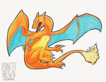 Charizard by sugarpoultry